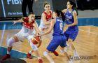 Женская сборная России потерпела поражение от Греции в плей-офф Евробаскета-2017