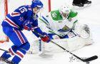 «СКА» вырвал победу у «Салавата Юлаева» в домашнем матче КХЛ-2017/18