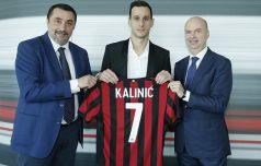 «Милан» оформил годичную аренду Калинича с обязательным выкупом