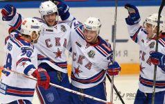 «СКА» вырвал победу у «Йокерита» в домашнем матче КХЛ-2017/18