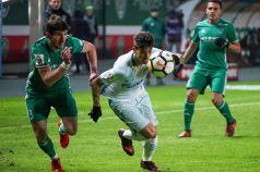 Зенит не сумел обыграть Ахмат в выездном матче РФПЛ-2017/18