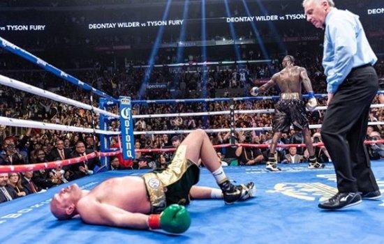 Титульный бой по боксу