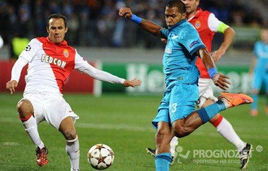 Игры футболу прогноз монако-зенит по