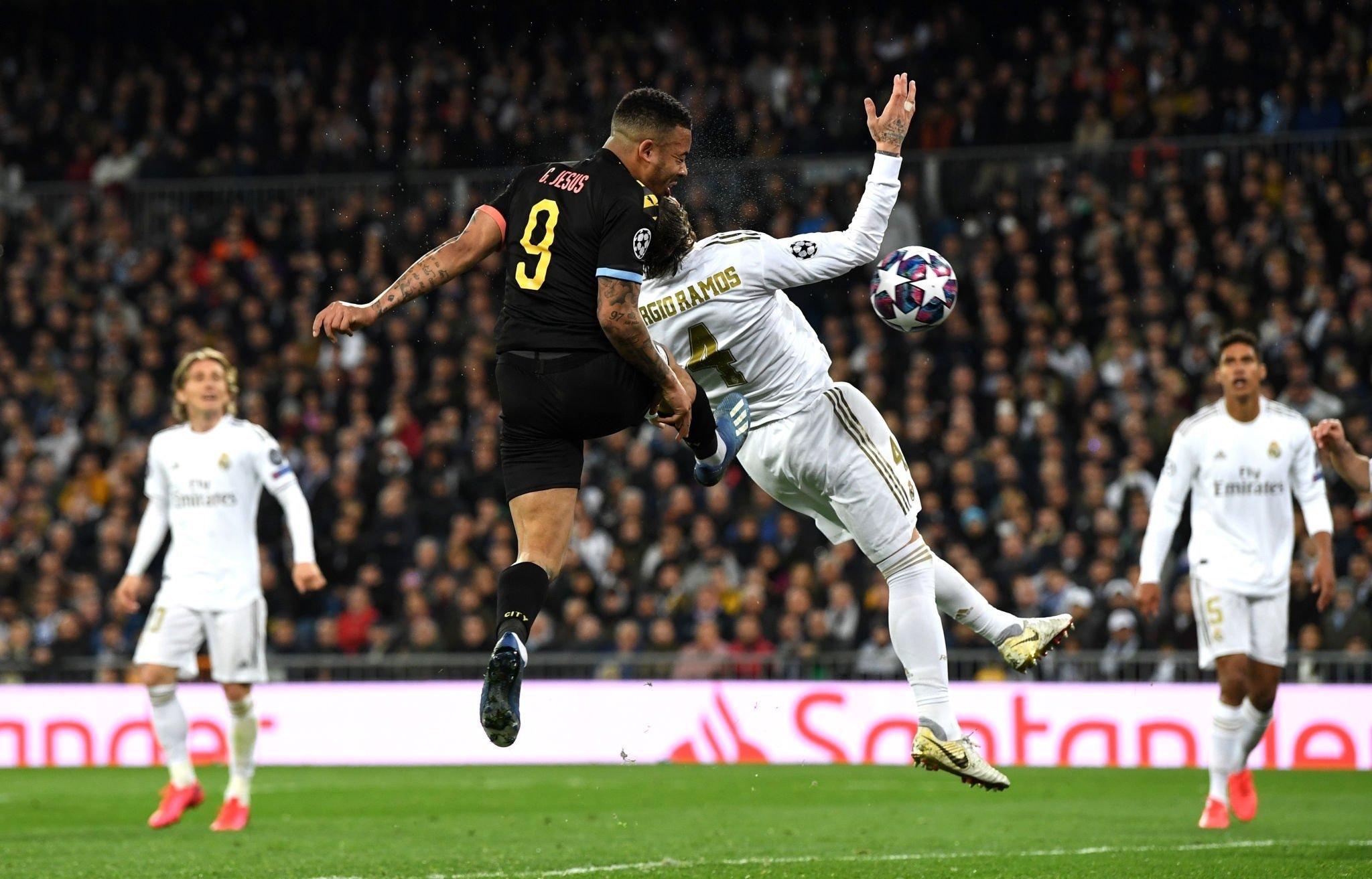 Реал Мадрид - Манчестер Сити, гол Жезусв